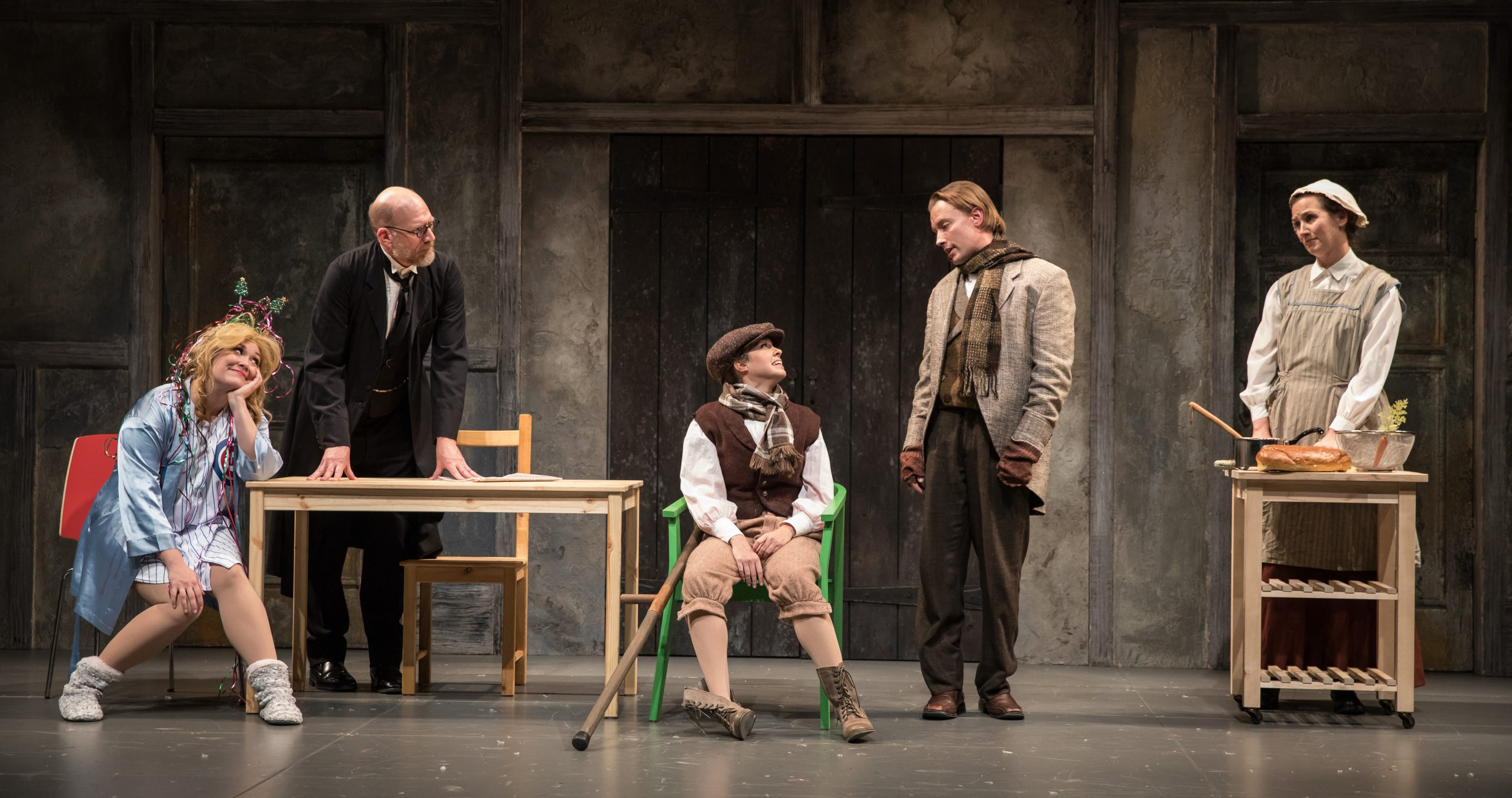 The Second City's <i>Twist Your Dickens</i>, at the Goodman Theatre