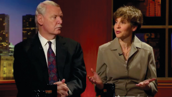 Jim Tyree and Lynne Stiefel on Chicago Tonight