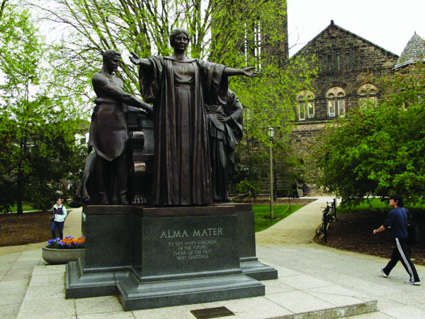 The University of Illinois's Alma Mater