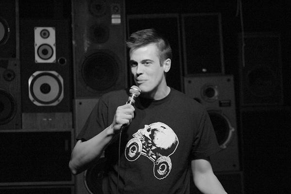 Stand-up comedian Jeff Steinbrunner