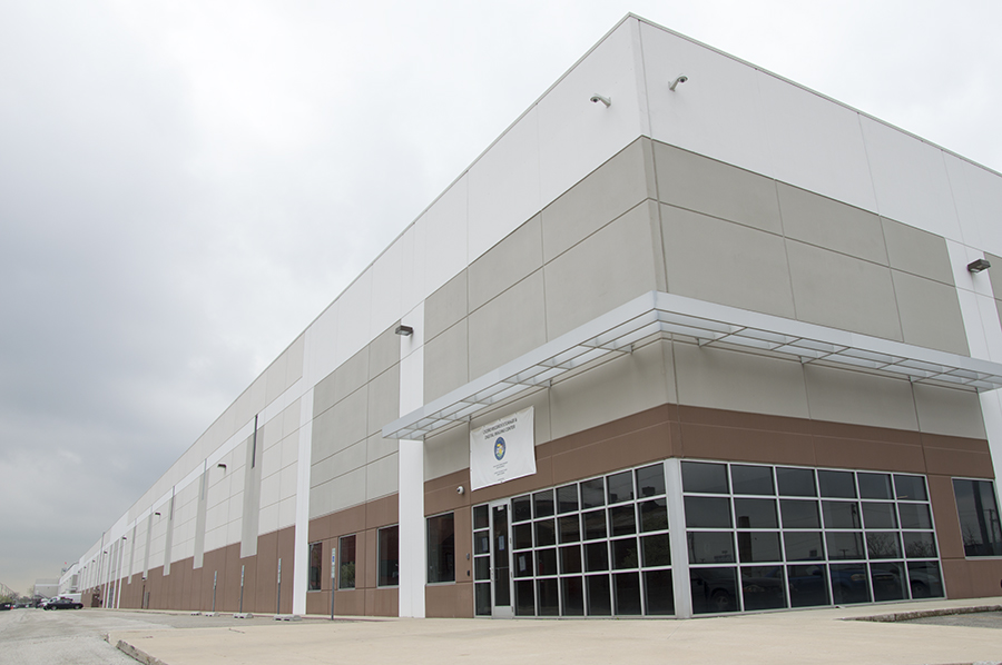 """Cook County opened a """"state-of-the-art"""" warehouse for more than a million boxes of court records in Cicero in 2014."""