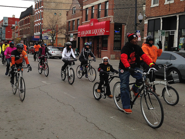 A Slow Roll Chicago Ride in Pilsen
