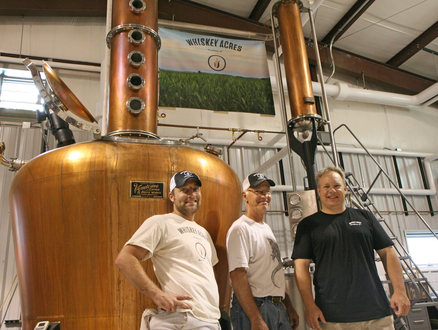 Left to right: Nick Nagele, Jim Walter, Jamie Walter