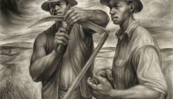 <i>Harvest Talk</i> by Charles White