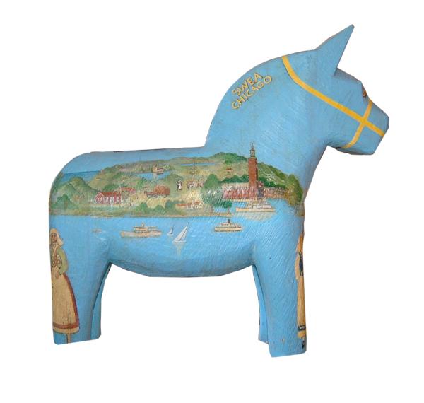 The Dala horse's Stockholm profile