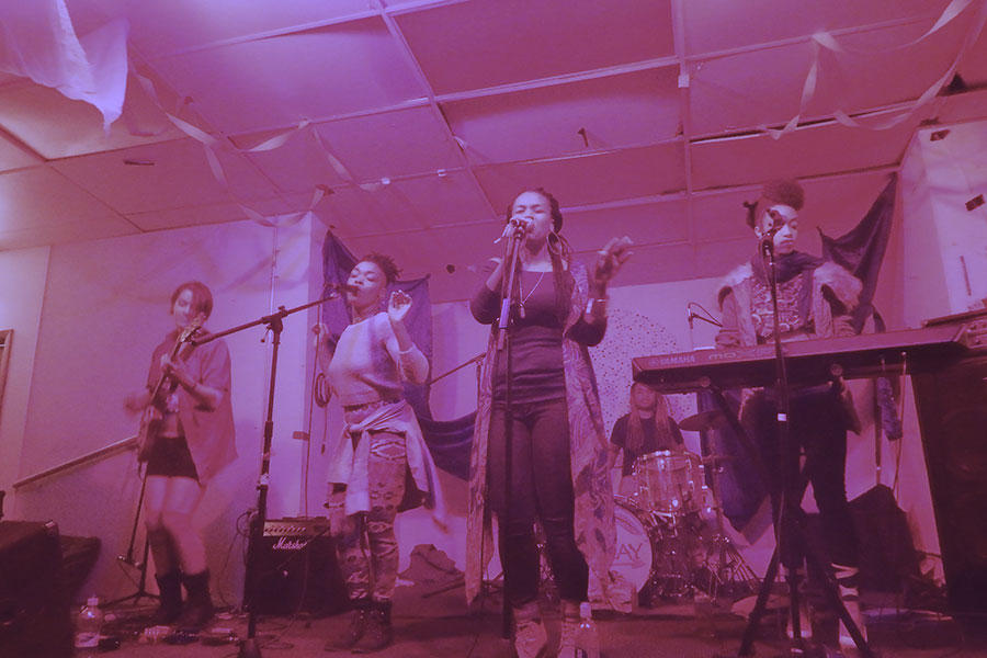 The Highness Collective perform at Young Camelot on October 24, 2015, to celebrate the organization's third anniversary.