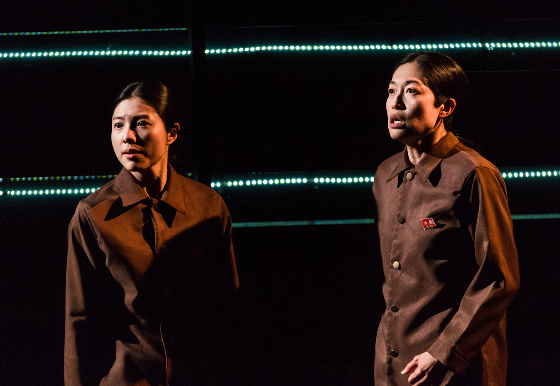 The dark comedy <i>You for Me for You</i>, about two sisters escaping North Korea, plays at Victory Gardens Theater 3/23-3/25.