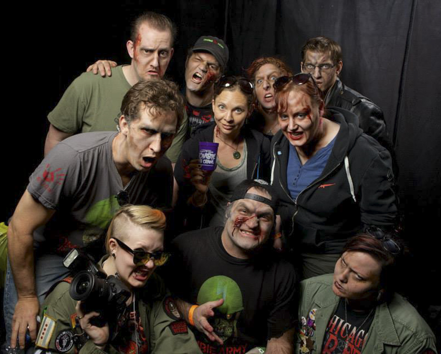 Dress in your undead best for the Chicago Zombie Pub Crawl on Sat 4/29.