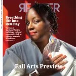 """Chicago Reader cover, September 16, 2021, Fall Arts Preview. Cover story by Irene Hsiao: """"Breathing life into Red Clay: Vershawn Sanders-Ward is creating a cultural community hub in Woodlawn."""""""