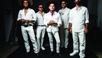 "Dos Santos, left to right: Daniel Villarreal-Carrillo, Peter ""Maestro"" Vale, AlexE. Chávez, Jaime Garza Rodriguez, and Nathan Karagianis"