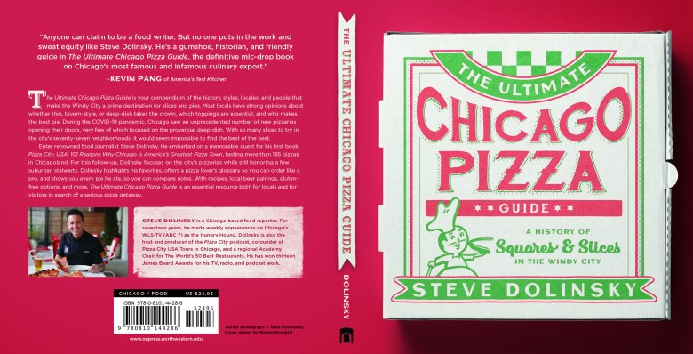 Ultimate pizza guide chicago food book