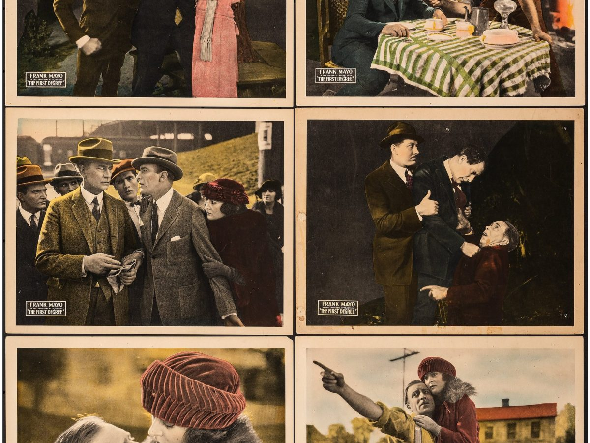 The First Degree lobby cards