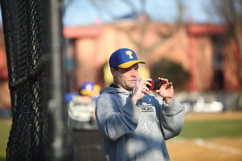 Tom Maher Sr. tries his best to show up at most of his son's baseball games. He is one of the few parents involved in sports at Tilden. His son, Tom Jr., was at Leo High, a Catholic school with a strong sports program, until tuition became too much for his budget.