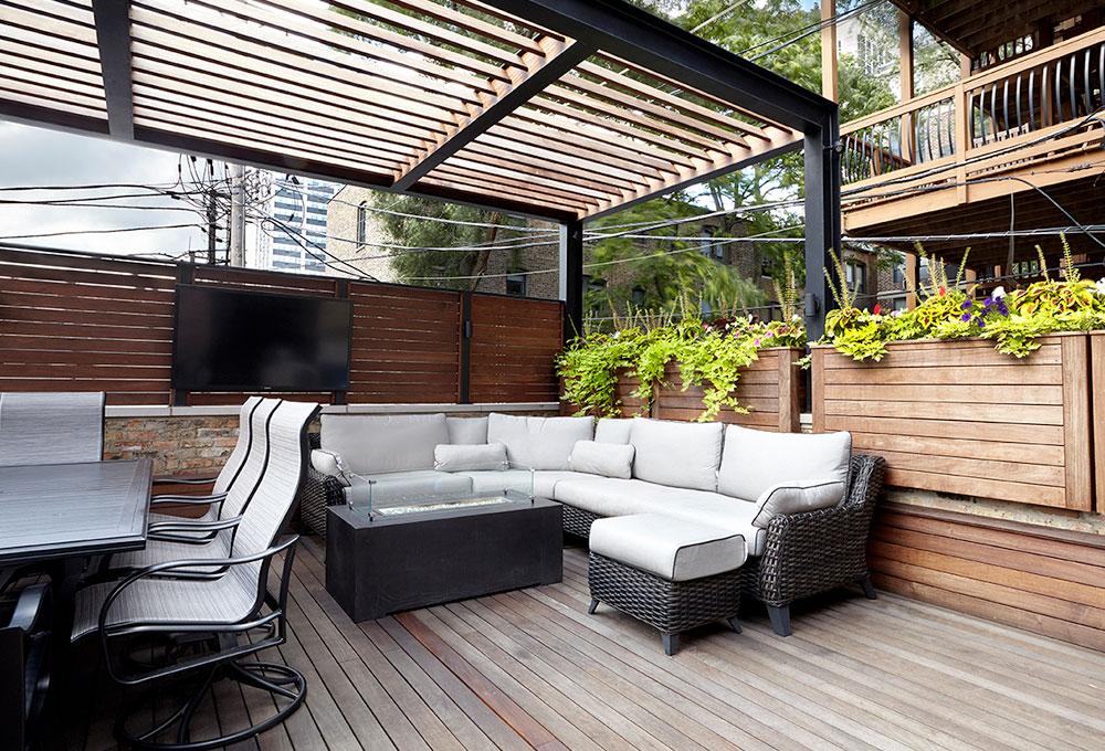 Lincoln Park Restoration Home Garage Roof Deck Chicago