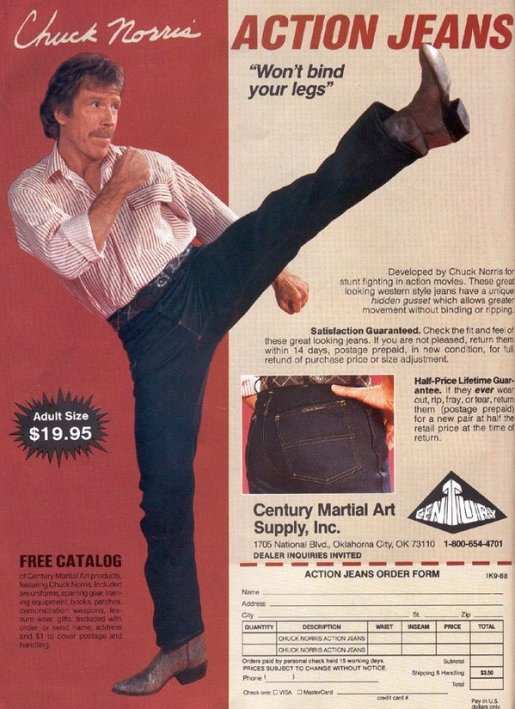 Chuck Norris Jeans