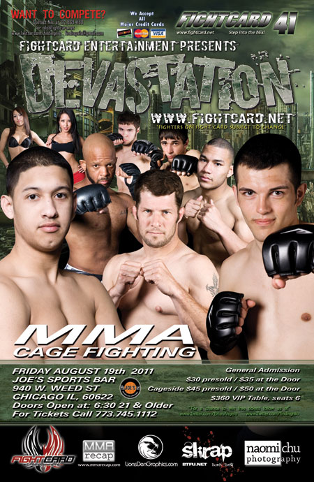 Fight Card Entertainment: Devastation