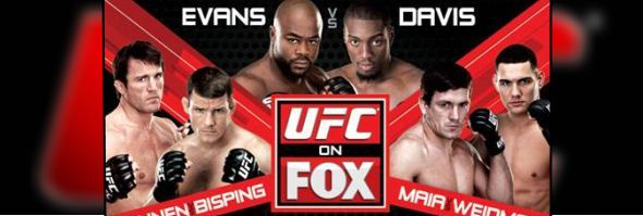 UFC on FOX: Evans vs. Davis