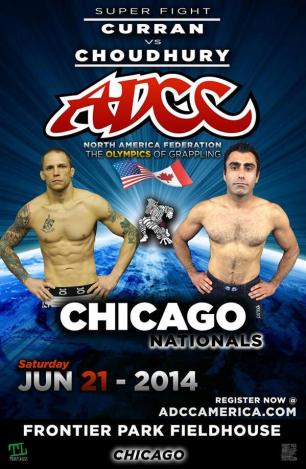 ADCC Chicago: Curran vs. Choudhury