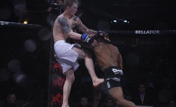 Josh Shockley at Bellator 60