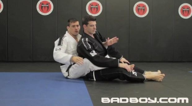 Demian Maia teaches the Body Triangle
