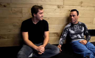 Eddie Bravo with Mike Finch