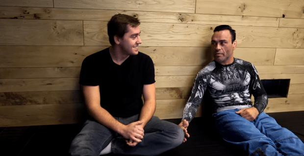 Eddie Bravo with Mike Finch