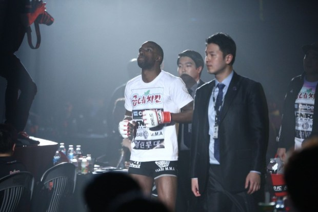 Tyrone Henderson at Road FC21