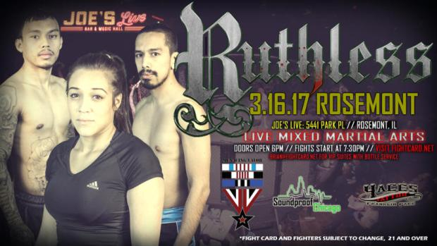 Fight Card Ruthless 2017
