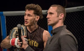 Mike Santiago and Eddie Wineland at HFC 33