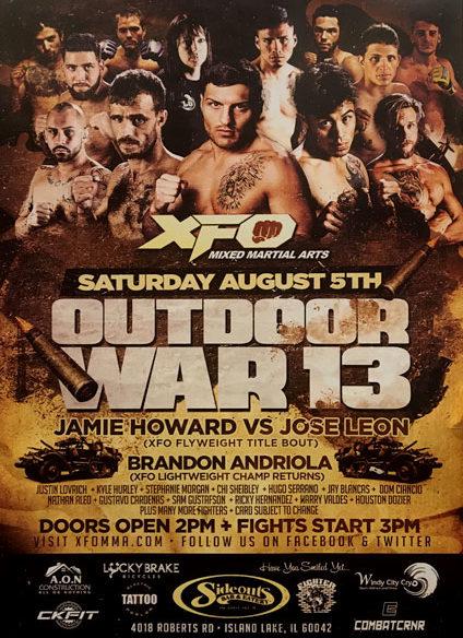 XFO Outdoor War 13