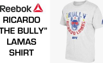 "Reebok UFC Ricardo ""The Bully"" Lamas Shirt"
