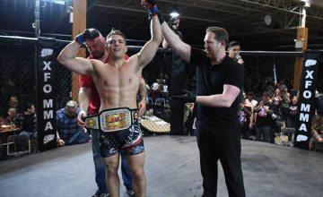 Justin Lovrich, XFO lightweight champion