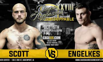 Caged Aggression: Tyler Scott vs. Trace Engelkes