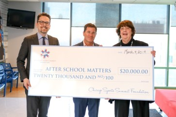Chicago Sports Summit - After School Matters money raised