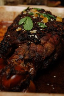Melissa's Goat leg with ancient spice mix