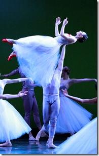 "Joffrey Ballet Chicago's ""Pretty BALLET"", choreographed by James Kudelka.  (photo credit: Herbert Migdoll)"