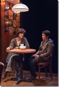 """Janet Ulrich Brooks and Elizabeth Ledo star in TimeLine Theatre's """"The How and the Why"""" by Sarah Treem, directed by Keira Fromm. (photo credit: Lara Goetsch)"""