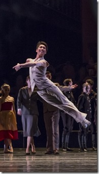 "Rory Hohenstein stars in Joffrey Ballet's ""Romeo and Juliet,"" composed by Sergei Prokofiev and choreographed by Krzysztof Pastor. (photo credit: Cheryl Mann)"