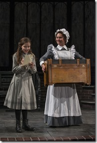 """Tori Whaples and Elizabeth Ledo star in Court Theatre's """"The Secret Garden"""" by Marsha Norman and Lucy Simon, directed by Charles Newell. (photo credit: Michael Brosilow)"""
