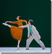 """Joffrey Ballet Chicago's """"Sylvia,"""" choreographed by John Neumeier, music by Léo Delibes. (photo credit: Cheryl Mann)"""