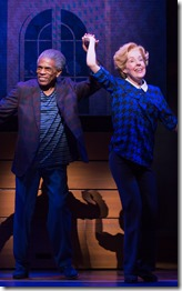 "Ande De Shields and Georgia Engel star in the pre-Broadway world premiere of ""Gotta Dance"", directed and choreographed by Jerry Mitchell. (photo credit: Matthew Murphy)"