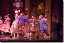 """Hansol Jeong with children in Joffrey Ballet's """"The Nutcracker,"""" conceived and directed by Robert Joffrey. (photo credit: Cheryl Mann)"""