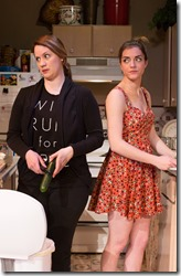 Dana Black and Abby Pierce in Rolling, Jackalope Theatre