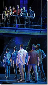 It's the classic tale of the Sharks versus the Jets in West Side Story, one of the greatest musicals ever, playing March 16-April 24, 2016 at the Paramount Theatre, 23 E. Galena Blvd. in downtown Aurora. For tickets and information, go to ParamountAurora.com or call (630) 896-6666. Photo credit: Liz Lauren.