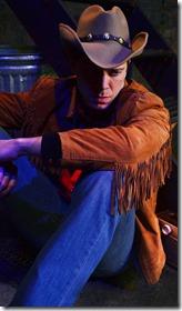 Zach Livingston as Joe Buck in Midnight Cowboy, Lifeline Theatre