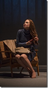 Carrie Coon as Mary Page in Mary Page Marlowe by Tracy Letts, Steppenwolf Theatre