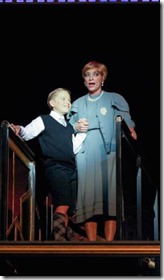 Zachary Scott Fewkes and Nancy Hays as Patrick and Mame, Light Opera Works