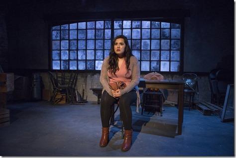 Karen Rodriguez stars in The Way She Spoke, Solo Celebration, Greenhouse Theater 1