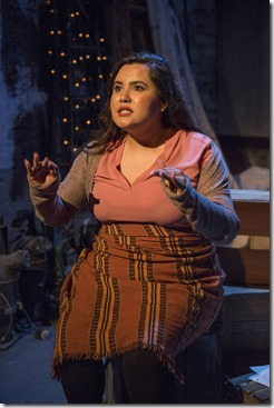 Karen Rodriguez stars in The Way She Spoke, Solo Celebration, Greenhouse Theater 2