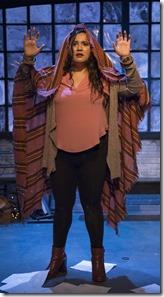 Karen Rodriguez stars in The Way She Spoke, Solo Celebration, Greenhouse Theater 3